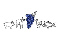 Gamay Wine + Party Animals