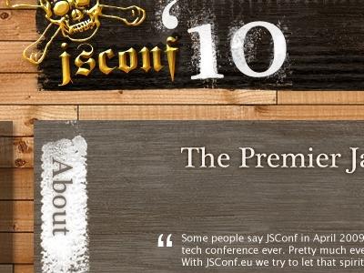 Jsconf2010 Website