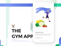 The gym app