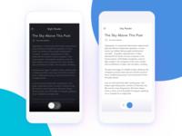 Blog Reading App Settings - Day 007
