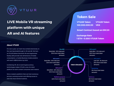 Virtual Reality - Day 073 dailyui ui dark live token page web vr reality virtual