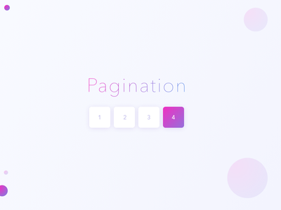 Pagination dailyui purple 085 gradient day pagination