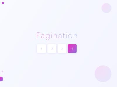 Pagination dailyui purple 085 gradient day pagination