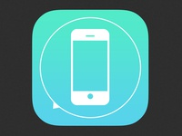 iMore app icon rebound