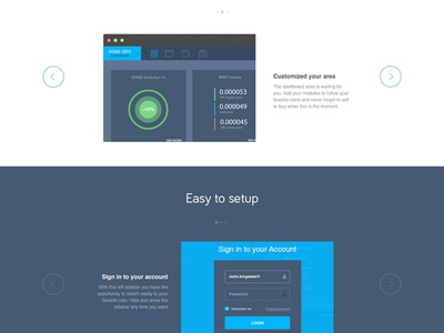 The final Kingcony landing page