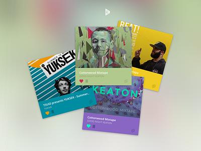 Bitzik - Collect the music, create your style colors cards bitcoin music bitzik