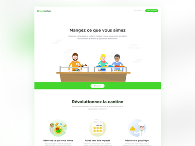 Meal Canteen landing page canteen food landing meal canteen
