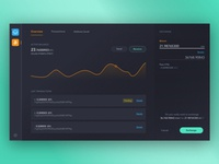 Breeze Wallet - Dark theme tries