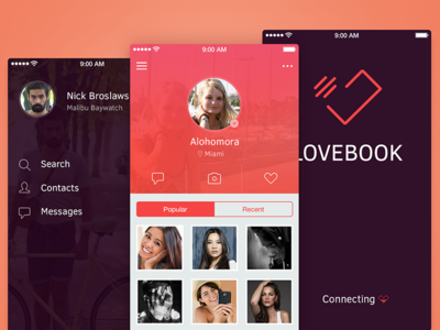 Love Book app