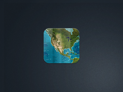 Map icon map icon iphone world ios