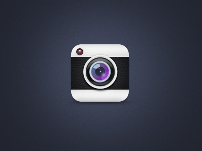 Camera icon icon ios camera app iphone pattern leather lense