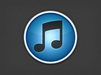 iTunes icon itunes mac icon blue glow music devil playoff rebound app