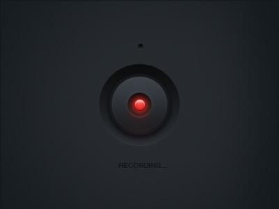 Dark side recordings recording button audio rec ui user interface microphone