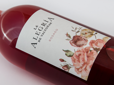Alegria wine label label wine design packaging