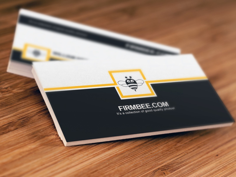 Free Set With PSD Business Cards Templates Photography Photoshop Mockups Freebies Psd