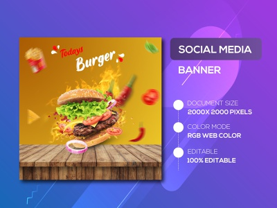 Restaurant Social Media Post Design poster art poster social media posts social media pack social media banner social media design socialmedia restaurant branding restaurant app restaurant typography flyer design social media banner examples advertising illustration facebook ads brand identity instagram stories instagram template instagram post