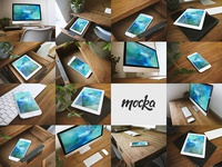 15 Responsive Mocka Mockups responsive unique mockup tablet ipad phone iphone desktop imac high quality download apple
