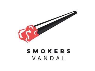 Smokers Vandal smoke sigaret vandal smokers