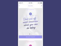 Inspirational Quotes App
