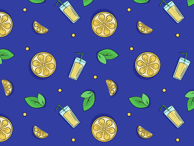 Lemon Pattern fruits pattern yellow fresh drink pattern summer lemonade lemon lemonade lemon lemon pattern pattern vector graphic illustration