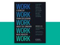 Work Work Work Work Work Poster