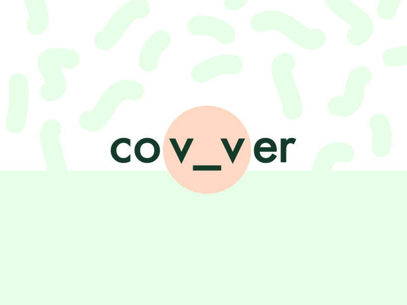 Covver logo and packaging design flat logo icon vector graphic illustration