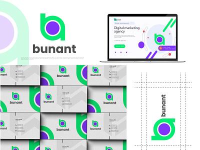 ba letter mark logo colorful logo ba logo best shot logo identity business card design brand identity creative ba vector top branding letter ba