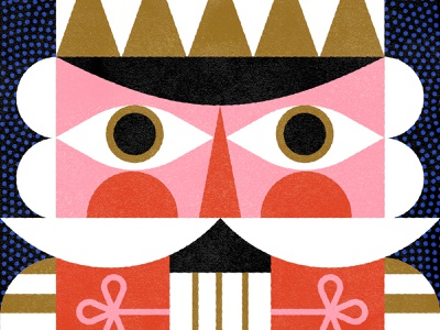 The Nutcracker - Nutcracker Series festive ballet nutcracker holiday christmas vintage vector illustration