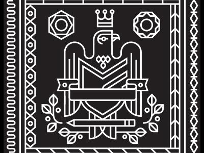 Bandana Black bandana pattern big cartel illustration