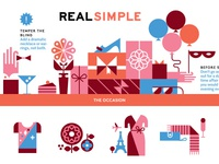 Real Simple Magazine - Here, You'll Need This Illustrations