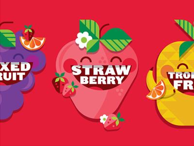 Target Market Pantry - Fruit Snacks target fruit illustration packaging