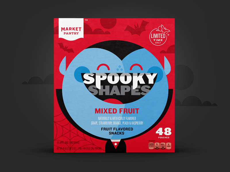 Market Pantry - Halloween Fruit Snacks vampire market pantry target halloween