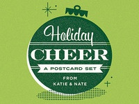 Holiday Cheer - A Postcard Set