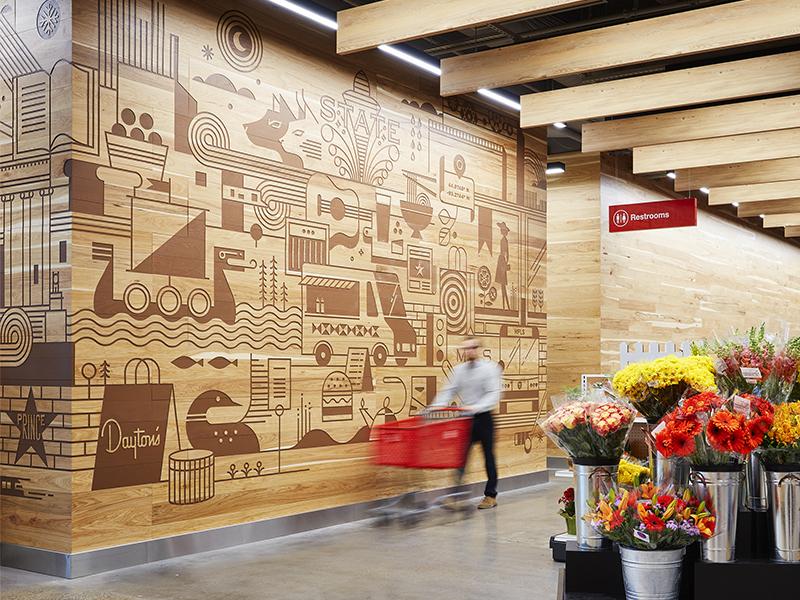 Target mural 4