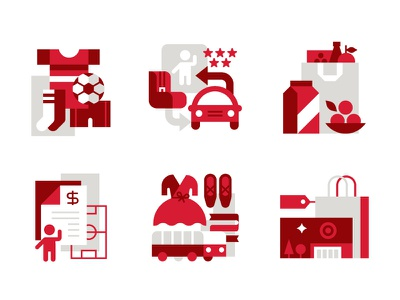 Target - ♥ Our Community Icons branding target icons