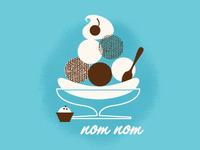 Ice Cream - nom nom