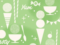 Ice Cream - Pattern