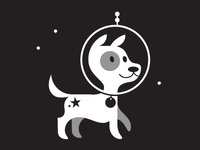 Puppy in space!