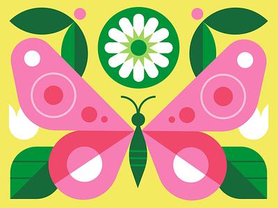 Target Spring signage butterfly spring holiday design target vector