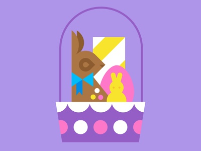 Target Easter vector illustration candy peeps easter eggs easter basket spring bunny easter bunny chcocolate signage target easter