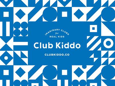 Club Kiddo is live! branding design kids clothing kids pattern branding club kiddo