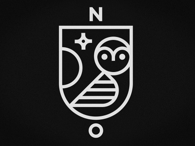Night Owls logo bedtime illustration tee tshirt owl kids art emblem crest vector line club kiddo night owls