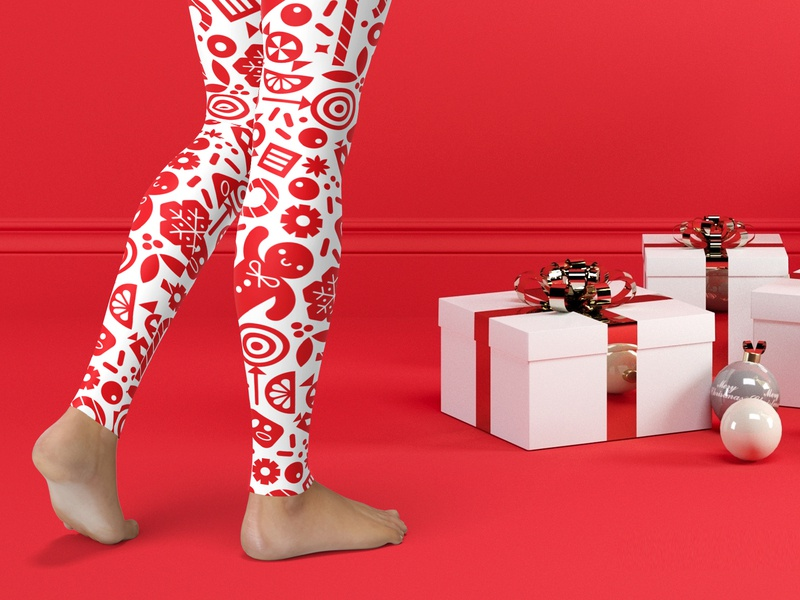 Candy Collective Holiday Leggings kids illustration candy club kiddo clothing kids leggings pattern