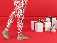 Candy Collective Holiday Leggings