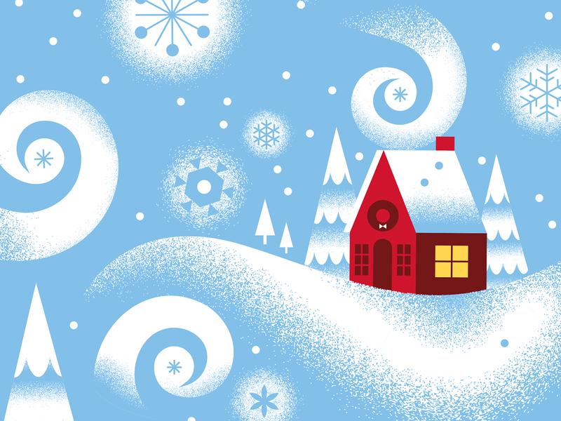 Target Wonderland - Snow Globe kids snow globe vector snow christmas illustration target wonderland holiday target