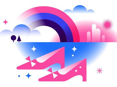 IDEO Blog - Dorothy oz vector illustration