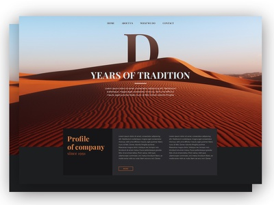 Tradition colors web webdesign ui ux