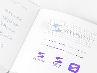 Veera sense tech modern lettermark wordmarks wordmark art font calligraphy typography vector identity design branding icon minimal logo graphic design design illustration
