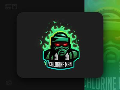 Chlorine man mascot character action game design ux gaming branding icon minimal logo graphic design design illustration character design mascot logo mascot