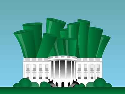 A Tremendous Leek Problem leeks white house